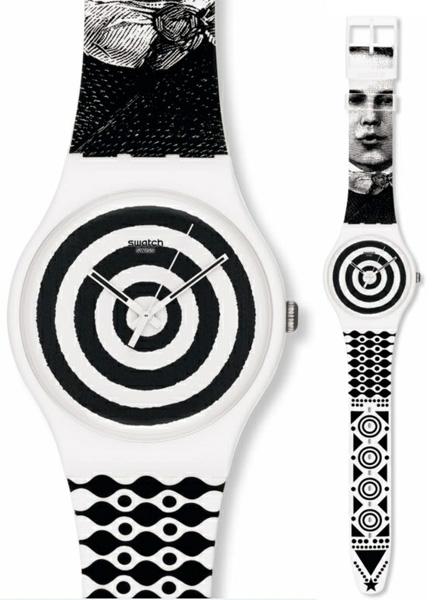 Swatch SUOZ126 Originals New Gent Hypnotic Eye
