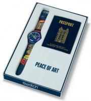 Zegarek unisex Swatch originals new gent SUOZ160 - duże 2