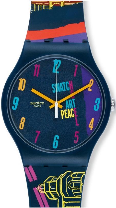 Zegarek unisex Swatch originals new gent SUOZ160 - duże 1