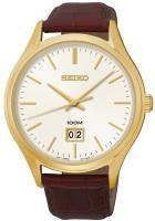 Zegarek męski Seiko classic SUR026P1 - duże 1