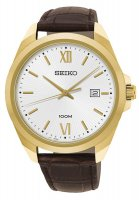 Zegarek męski Seiko classic SUR284P1 - duże 1