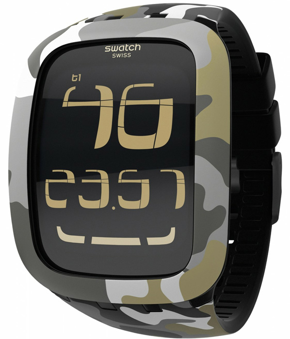Swatch SURB105 Touch Swatch Touch Camouflage