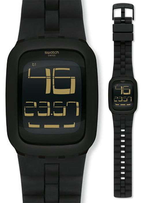 Zegarek damski Swatch touch SURB112 - duże 1