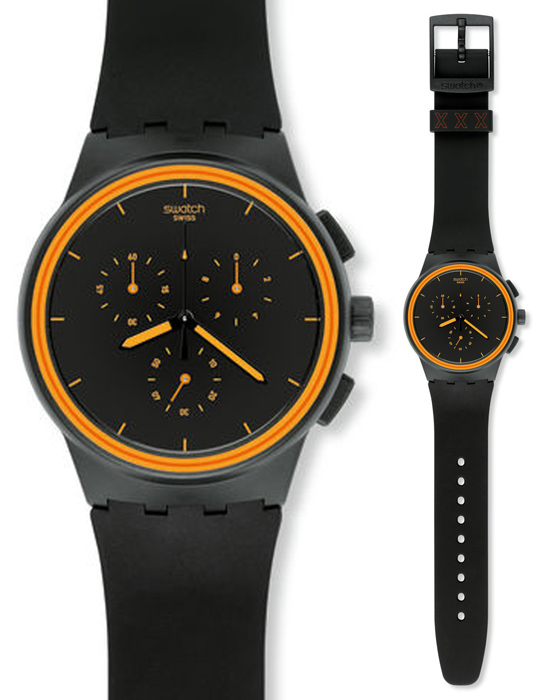 Zegarek męski Swatch originals chrono SUSB100 - duże 1