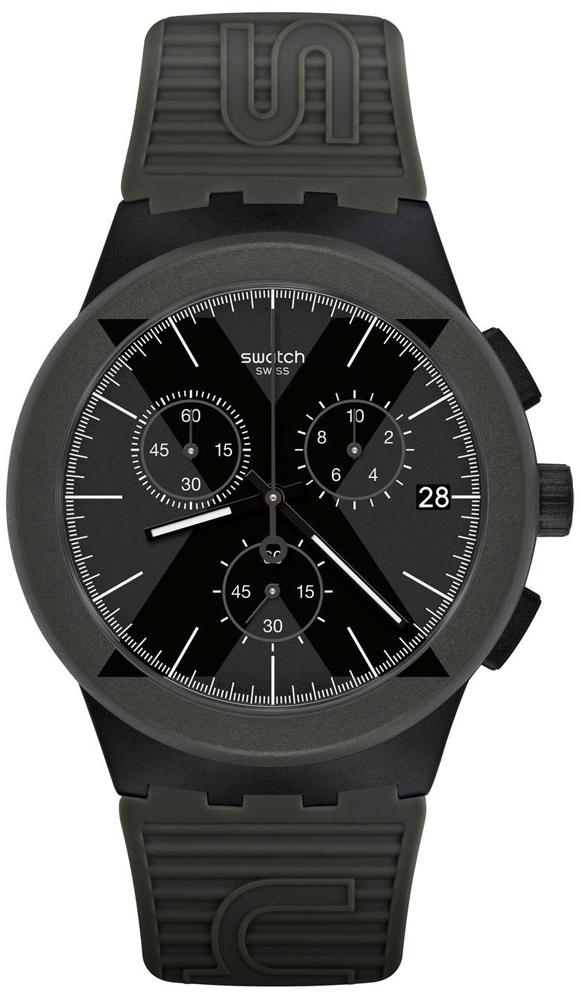 fdcc0b7a9e9c9 Swatch SUSB414 X-DISTRICT GREEN zegarek męski - Sklep ZEGAREK.NET