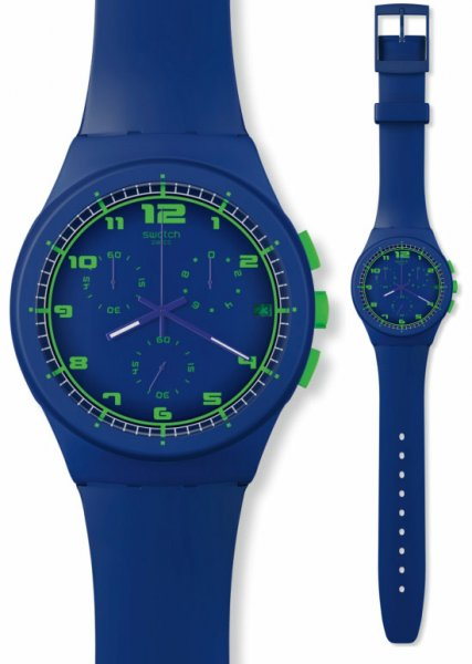 Swatch SUSN400 Originals Chrono Blue C