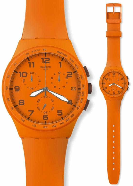 Swatch SUSO400 Originals Chrono Wild Orange