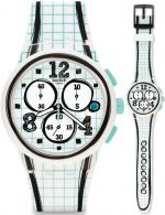 Zegarek męski Swatch originals chrono SUSW403 - duże 1