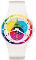 Zegarek unisex Swatch originals chrono SUSW404 - duże 1