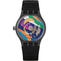 Zegarek męski Swatch originals sistem 51 SUTF400 - duże 2