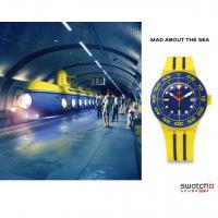 Zegarek męski Swatch originals scuba libre SUUJ400 - duże 2