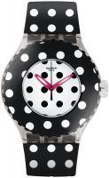 zegarek Black Ghost Swatch SUUK107
