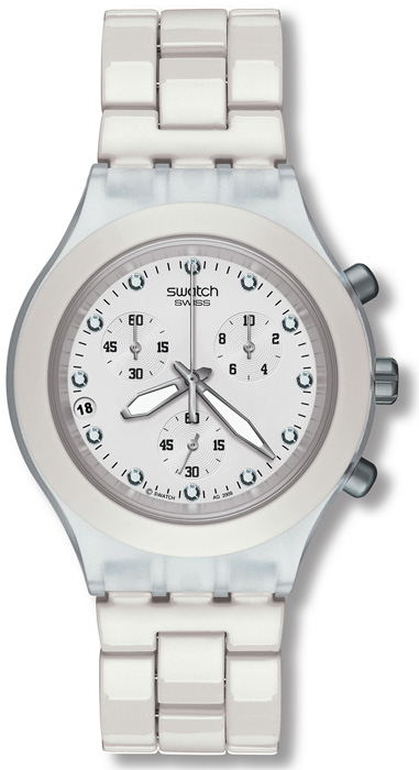Swatch SVCK4045AG Irony Lady Full-Blooded White