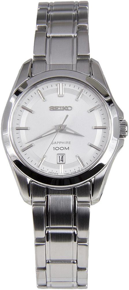 Zegarek damski Seiko classic SXDF55P1 - duże 1
