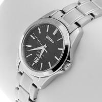 Zegarek damski Seiko classic SXDF57P1 - duże 2