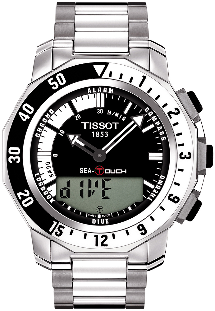 Tissot T026.420.11.051.00 T-Touch Classic SEA TOUCH