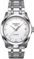 Zegarek damski Tissot couturier T035.207.11.011.00 - duże 1