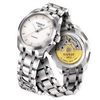 Zegarek damski Tissot couturier T035.207.11.011.00 - duże 2