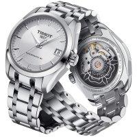 Zegarek damski Tissot couturier T035.207.11.031.00 - duże 2