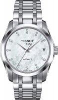 Zegarek damski Tissot couturier T035.207.11.116.00 - duże 1