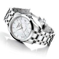 Zegarek damski Tissot couturier T035.207.11.116.00 - duże 2