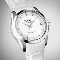 Zegarek damski Tissot couturier T035.207.16.011.00 - duże 3