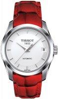 Zegarek damski Tissot couturier T035.207.16.011.01 - duże 1