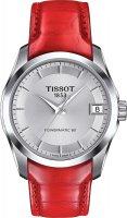 Zegarek damski Tissot couturier T035.207.16.031.01 - duże 1