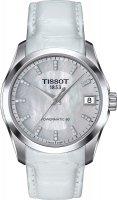 Zegarek damski Tissot couturier T035.207.16.116.00 - duże 1