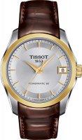 Zegarek damski Tissot couturier T035.207.26.031.00 - duże 1