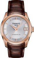Zegarek damski Tissot couturier T035.207.36.031.00 - duże 1