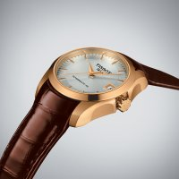 Zegarek damski Tissot couturier T035.207.36.031.00 - duże 2