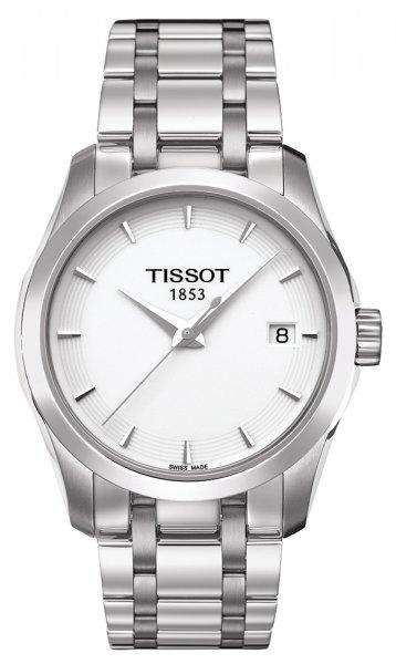 Zegarek damski Tissot couturier T035.210.11.011.00 - duże 3