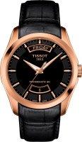 Zegarek męski Tissot couturier T035.407.36.051.01 - duże 1