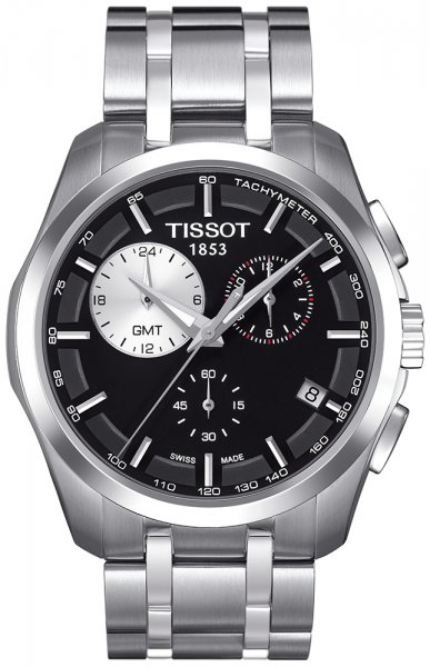 Zegarek męski Tissot couturier T035.439.11.051.00 - duże 1