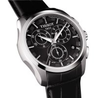 Zegarek męski Tissot couturier T035.617.16.051.00 - duże 2