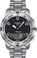 Zegarek męski Tissot t-touch ii T047.420.11.051.00 - duże 1