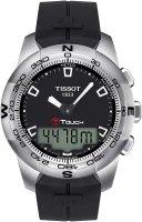 Zegarek męski Tissot t-touch ii T047.420.17.051.00 - duże 1