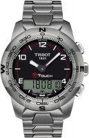 Zegarek męski Tissot t-touch ii T047.420.44.057.00 - duże 1