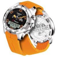 Zegarek męski Tissot t-touch ii T047.420.47.051.11 - duże 2
