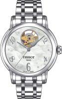 Zegarek damski Tissot lady heart T050.207.11.116.00 - duże 1