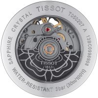 Zegarek damski Tissot lady heart T050.207.17.051.04 - duże 2