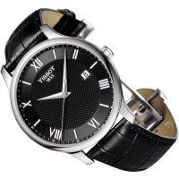 Zegarek męski Tissot tradition T063.610.16.058.00 - duże 2