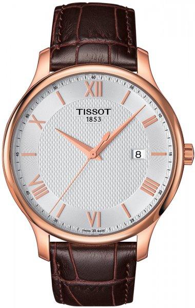Zegarek męski Tissot tradition T063.610.36.038.00 - duże 1