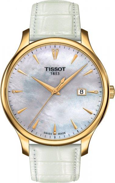 Zegarek damski Tissot tradition T063.610.36.116.00 - duże 1