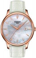 Zegarek damski Tissot tradition T063.610.36.116.01 - duże 1