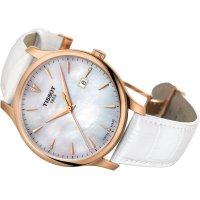 Zegarek damski Tissot tradition T063.610.36.116.01 - duże 2