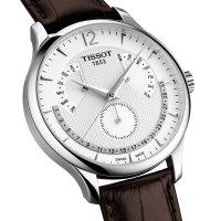 Zegarek męski Tissot tradition T063.637.16.037.00 - duże 3
