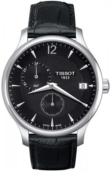 Zegarek Tissot TRADITION GMT - męski  - duże 3