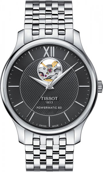 Tissot T063.907.11.058.00 Tradition TRADITION POWERMATIC 80 OPEN HEART